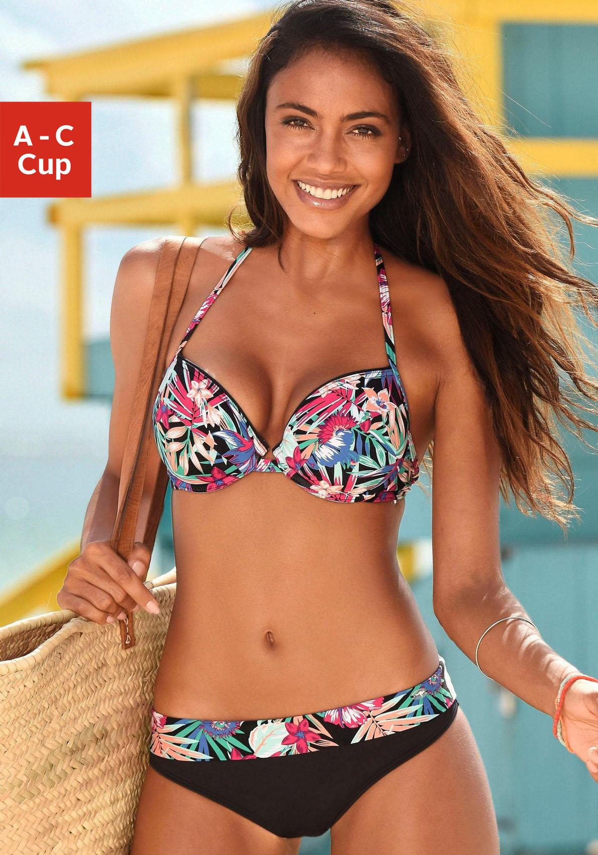 KangaROOS Bikini-Hose »Bali« mit Umschlagbund