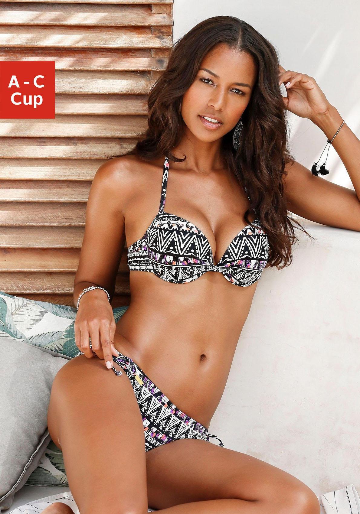 LASCANA Push-Up-Bikini-Top »Yuca«