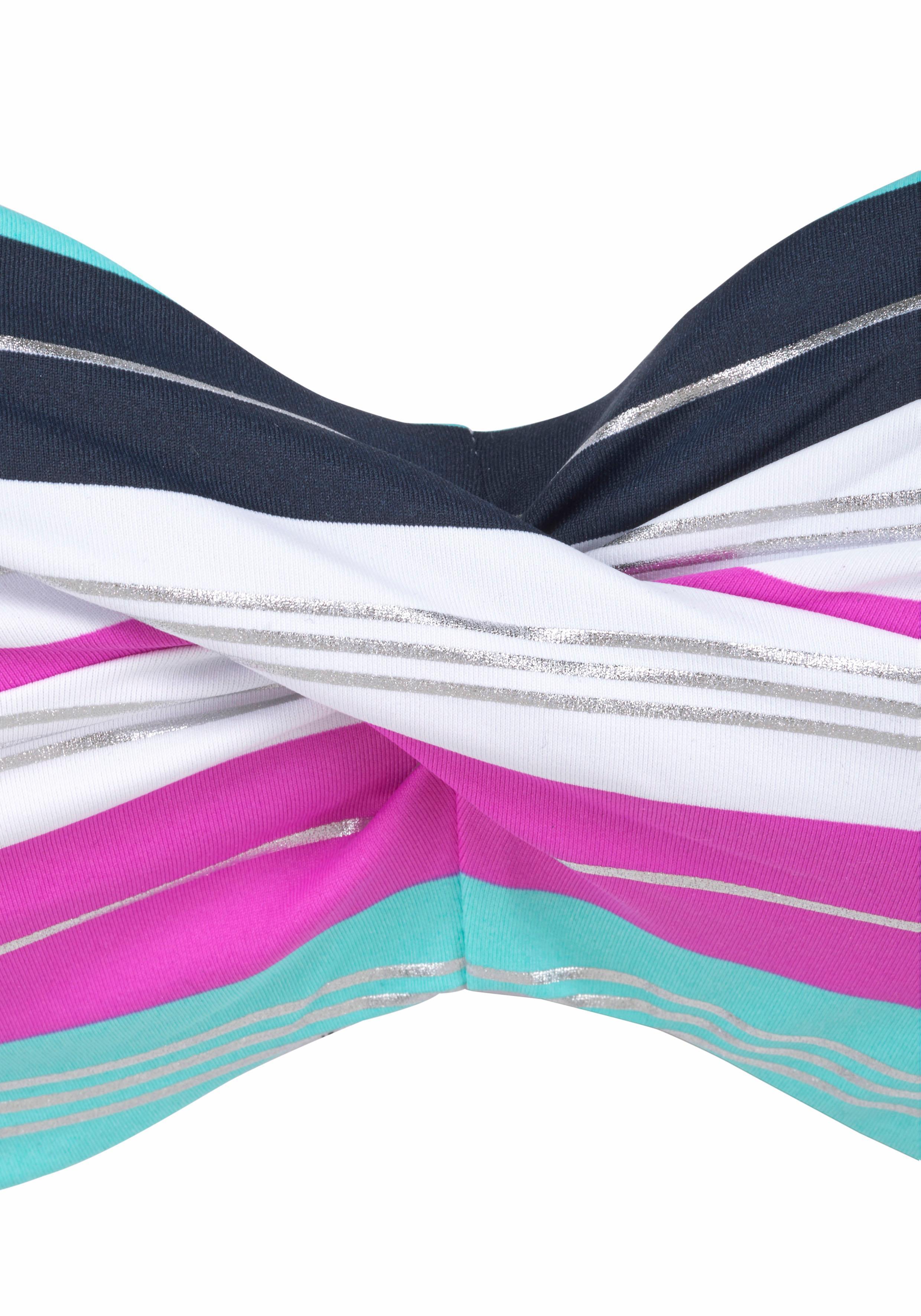 s.Oliver Beachwear Bügel-Bandeau-Bikini