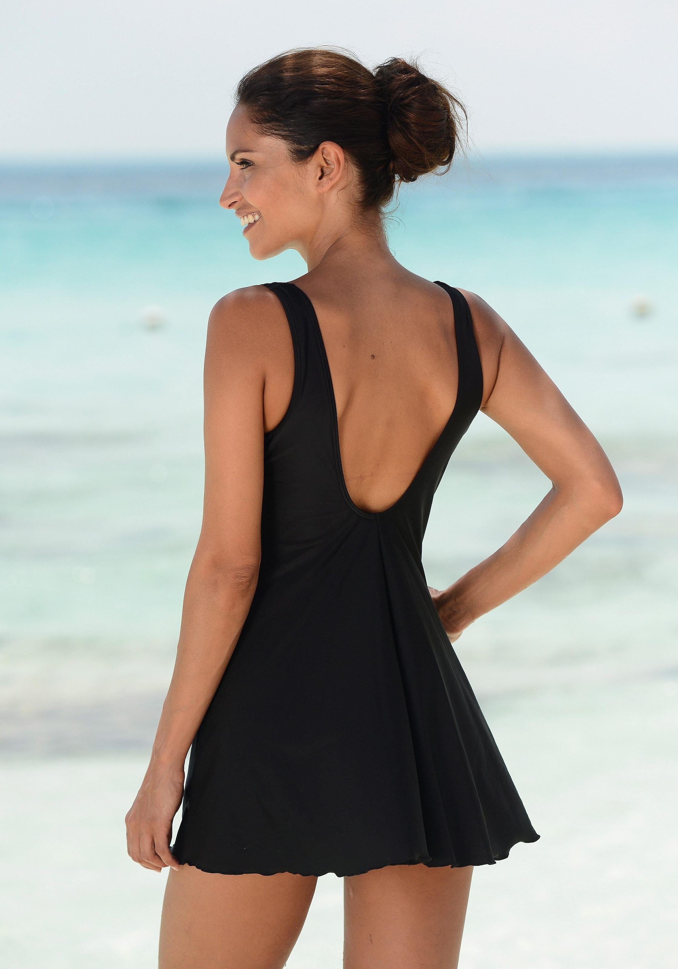 6f9231e6510d LASCANA Badeanzugkleid mit Kontrasteinsätzen online kaufen