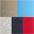 rot + marine + grau-meliert + khaki