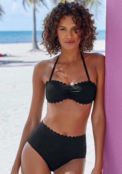 LASCANA Bandeau-Bikini-Top »Scallop«