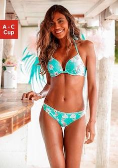 Sunseeker Push-Up-Bikini-Top »Ditsy«