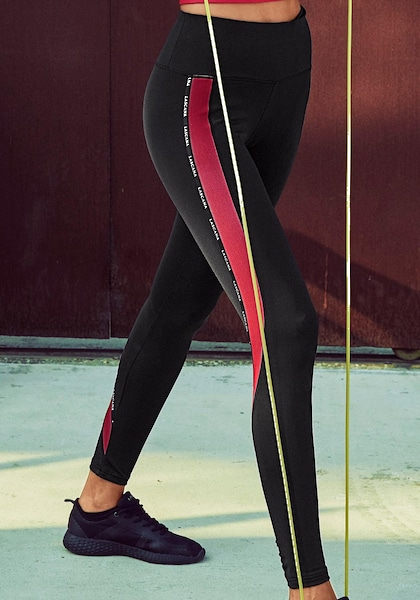 LASCANA ACTIVE Funktionsleggings »Technical Red«