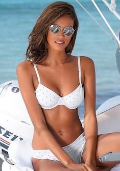 LASCANA Bügel-Bikini-Top »Sparkel«