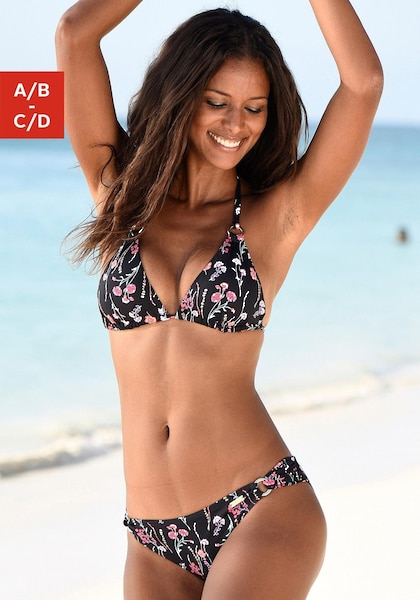 LASCANA Triangel-Bikini-Top »Bloom«