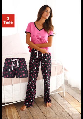 Lot de pyjamas 3 pièces Vivance Dreams