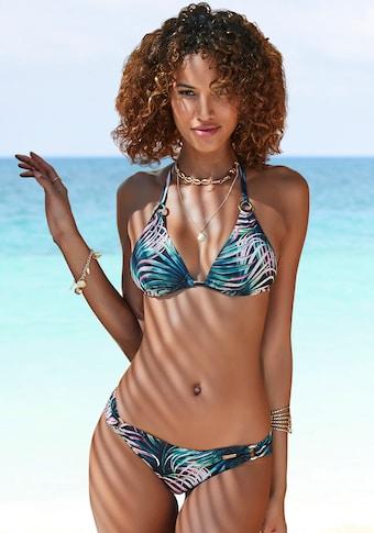 LASCANA Bikini-Hose »Reese«, mit seitlichen Zierringen