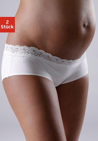 petite fleur Schwangerschaftsslip, in Pantyform mit Spitzenband