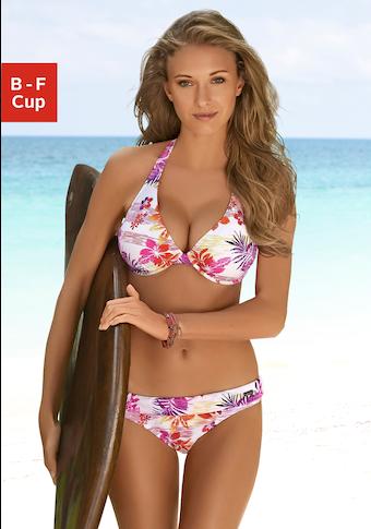 Venice Beach Bügel-Bikini, im Hawaii-Design