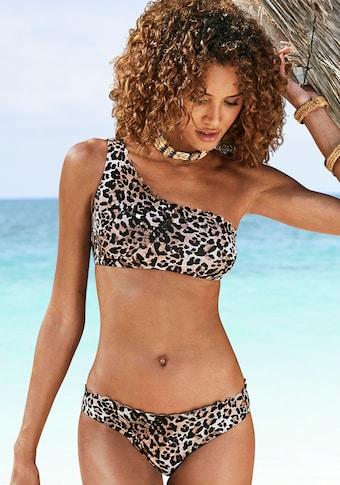 LASCANA Bustier-Bikini-Top »Lexa«, Mit Muschelkante