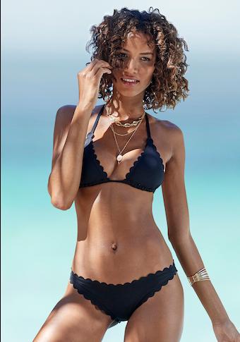LASCANA Bikini-Hose »Scallop«, in Brasilien- Form