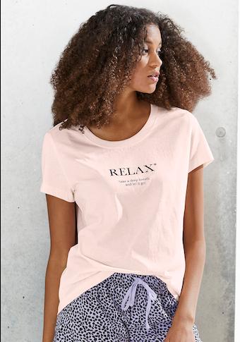 Vivance Dreams T-Shirt, mit leicht tailliertem Schnitt