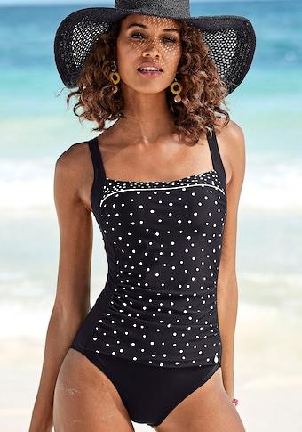 LASCANA Badeanzug »Leona«, mit Pünktchenprint