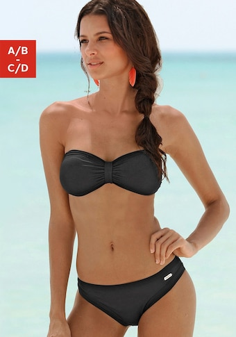 Sunseeker Bandeau-Bikini »Miami«, Im trendigen Tropical-Print
