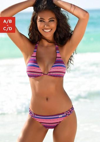 Buffalo Triangel-Bikini-Top »Lux«, mit Ethno-Druck