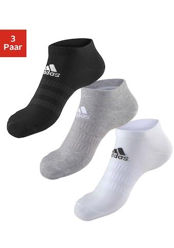 adidas Performance Sneakersocken »Performance«, (3 Paar), mit klassischem Logoschriftzug