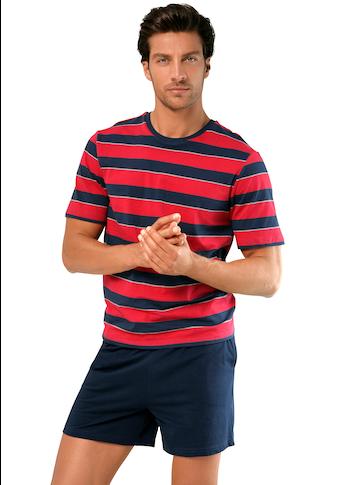 Pyjama short avec encolure arrondie