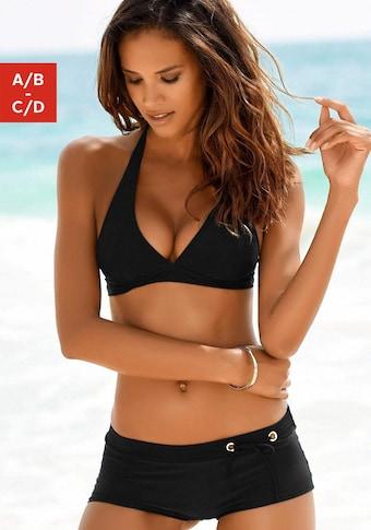 Bruno Banani Triangel-Bikini, mit Hotpants