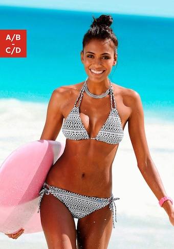 Venice Beach Triangel-Bikini-Top »Ethno«