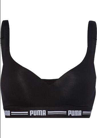 PUMA Bralette »Iconic«, mit leicht gepaddeten Cups