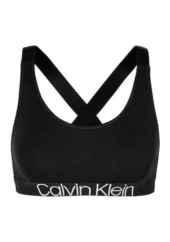Calvin Klein Bustier »CK RECONSIDERED«, Mit Logo-Jacquardmuster