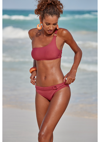 s.Oliver Beachwear Bustier-Bikini-Top »Rome«, mit One-Shoulder-Form