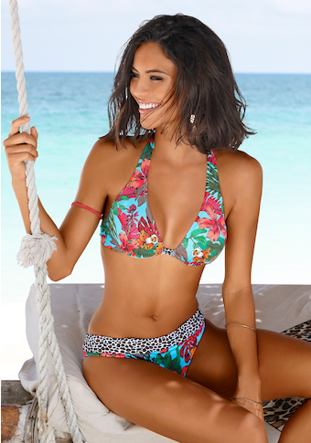 Bruno Banani Bügel-Bikini, mit Mustermix