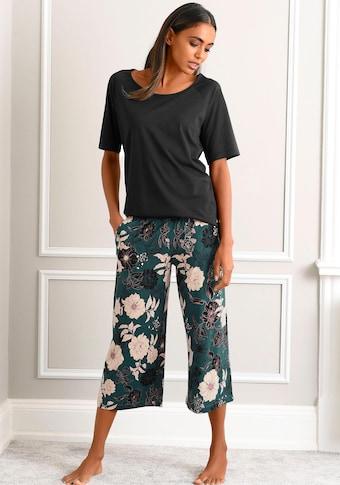 s.Oliver Bodywear : pyjama-corsaire