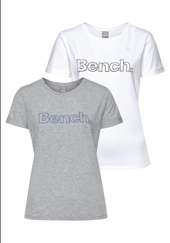 Bench. : T-shirt à manches courtes