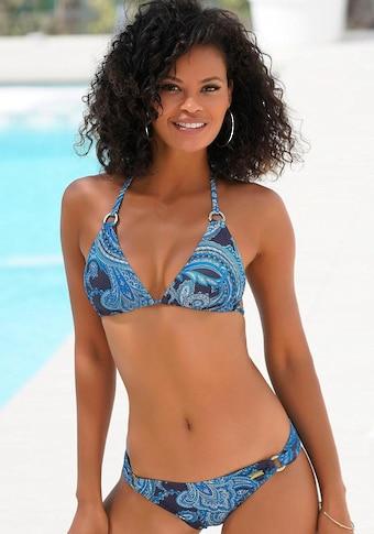 LASCANA : bikini triangle-top »Boho«