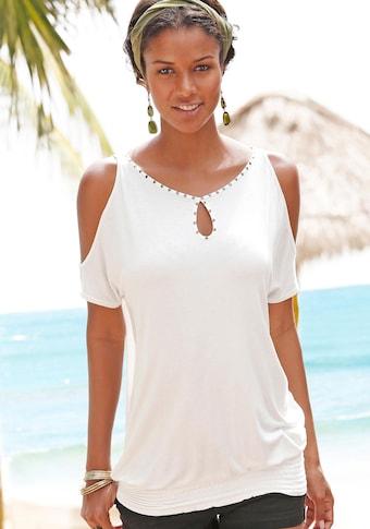 LASCANA : T-shirt de plage