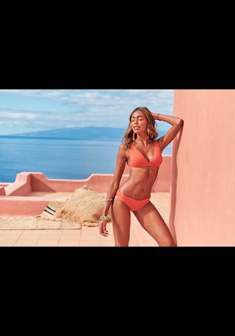 LASCANA Triangel-Bikini-Top »Rainbow Collection«, mit geraden Trägern