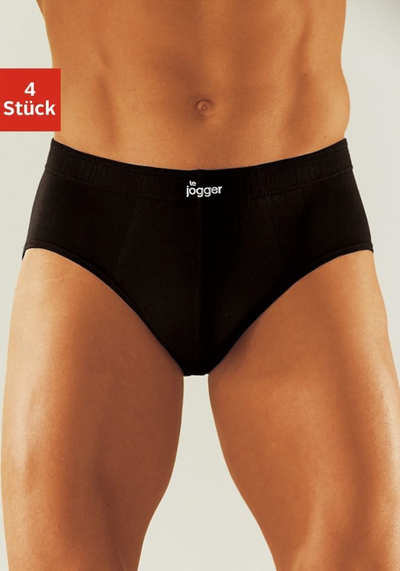 le jogger® Slip, aus angenehm weicher Baumwoll-Qualität