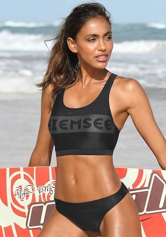 Chiemsee Bustier-Bikini, in sportlichem Design