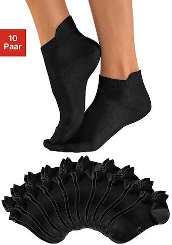 Socquettes KangaROOS (10 paires) avec bord haut