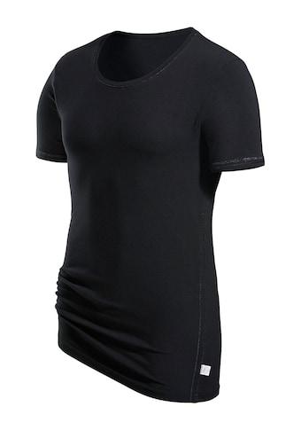 T-shirt s.Oliver RED LABEL Bodywear, sous-vêtements de marque au seyant parfait avec surpiqûres décoratives brillantes