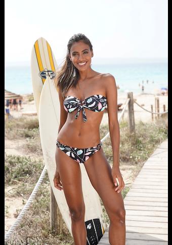 Sunseeker Bikini-Hose »Leaves«, mit seitlichen Ringen