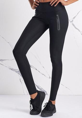 LASCANA ACTIVE Leggings, mit Reissverschlusstaschen