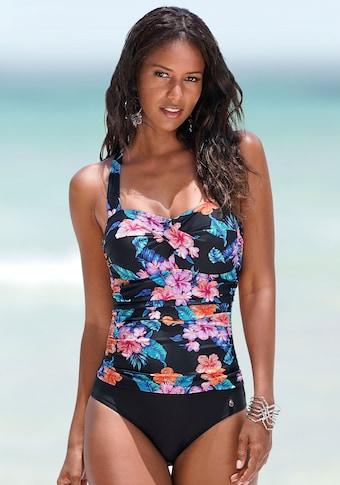LASCANA Badeanzug, mit Neckholder und Shaping-Effekt