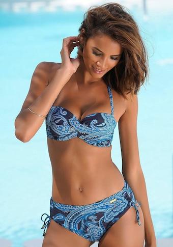 LASCANA : haut de bikini bandeau à armatures »Boho«