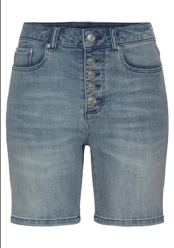 Buffalo Jeansshorts, in High-waist-Form
