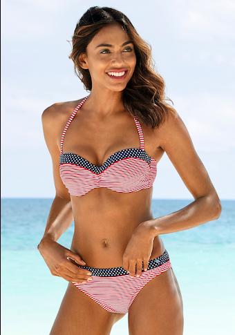 s.Oliver Bikini-Hose »Avni«, mit Muster