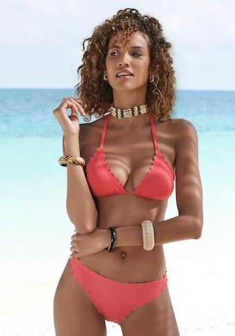LASCANA Bikini-Hose »Scallop«