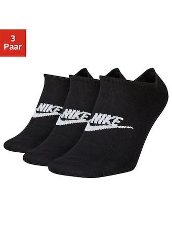 Nike Sneakersocken, (3 Paar), mit Logo auf dem Mittelfuss