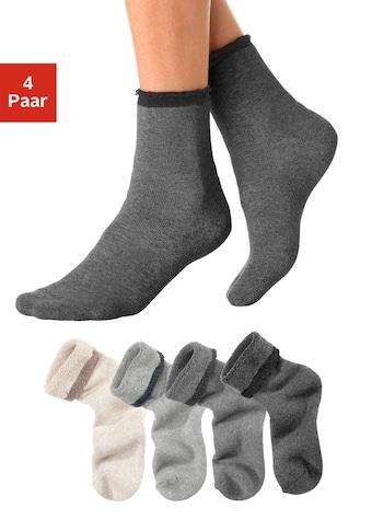 Chaussettes confort ARIZONA en lot de 4
