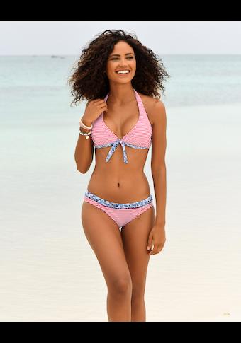 s.Oliver Bügel-Bikini-Top »Jill«, mit Mustermix