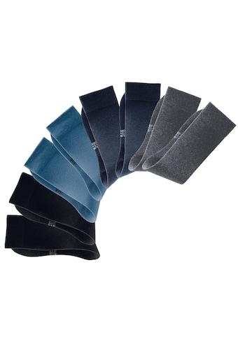 Chaussettes basiques H.I.S (4 paires) Fabriqué en Allemagne