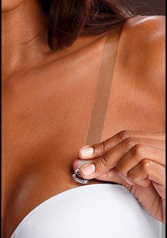 2 paires de bretelles transparentes ABRACADABRA