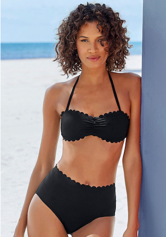 Haut de bikini bandeau LASCANA »Scallop«